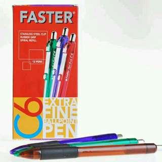 Pulpen Faster C6 Model Taktik