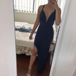 Tight Long Dress With Split