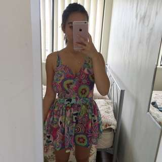 Colourful Pattern Play suit