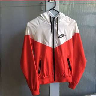 Authentic Nike Wind Runner Red/White