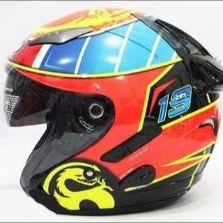 KYT DJ19 L碼頭盔 內置墨鏡