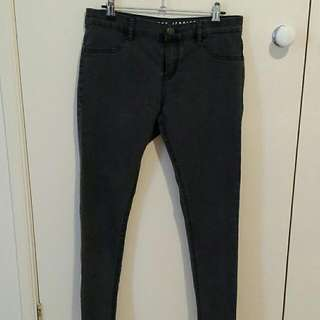 Dark Grey Jeggings