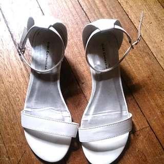 GIBI White Sandals