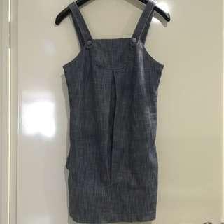 LADAKH Denim Sleeveless Dress