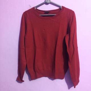 Esprit Sweater In Maroon