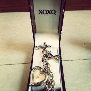 Authentic XOXO ladies bracelet watch