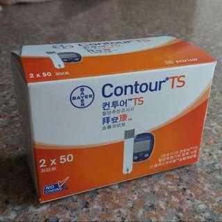 Coutour TS 100片裝 拜安康 血糖試紙 糖尿試紙