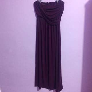 Party Dress In Purple