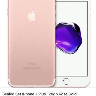 (Reserved) iPhone 7 Plus Rose Gold