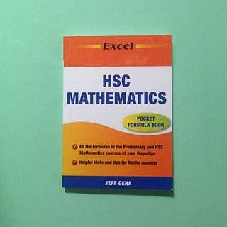 Excel HSC Mathematics Pocket Formula Book