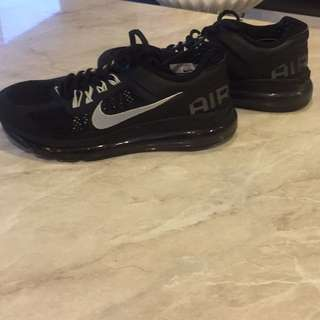 Nike air max size is a showing on photo