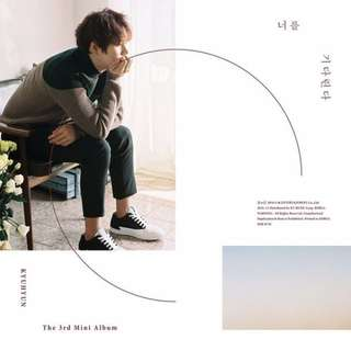 [PREORDER] Kyuhyun 3rd Mini Album - I Will Wait For You