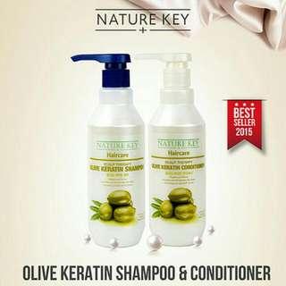 Nature Key OLIVE Keratin Shampoo