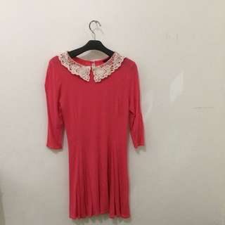 Dress Pink Newlook