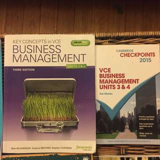 Business Management Textbook Plus Revision Book