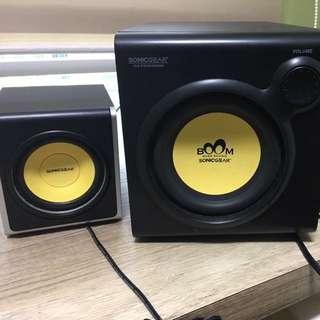 Speaker (boom Sonicgear)