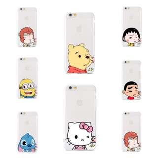 [PO] iPhone 5/5S/SE/6/6S Cute Pinch Cheek Cartoon Character Phone Case