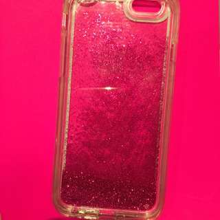 **PENDING IPhone 6/6s Moving Glitter Case