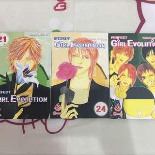 Comics - Perfect Girl Evolution