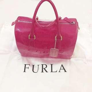 100% Authentic Furla Candy Bag Pink/fuschia
