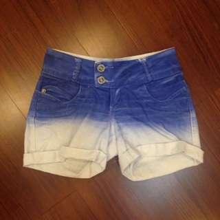 夏日樂悠悠漸層熱褲
