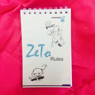 PETRONAS Zeto Rules Booklet By Lat