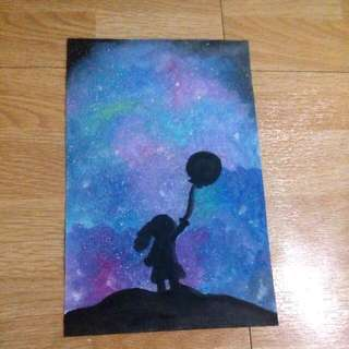 Galaxy Painting( Make An Offer)
