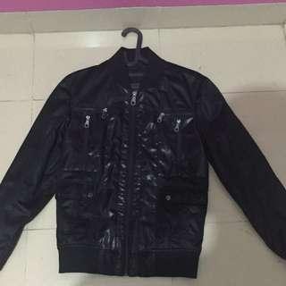 Jaket Kulit Zara Man