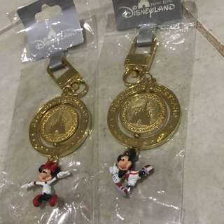 Authentic Disney Key rings Set