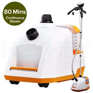 SOGA 80min Professional Commercial Garment Steamer Portable Cleaner Steam Iron Y