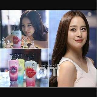 ES Elastine Shampoo/Conditioner/Treatment De Perfume