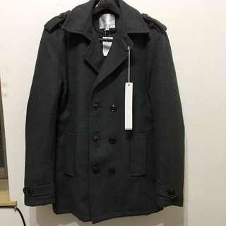 韓版歐巴雙排扣外套