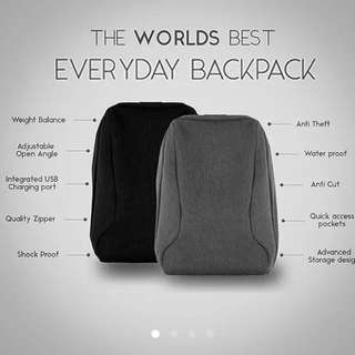 Anti Theft Designed Bag