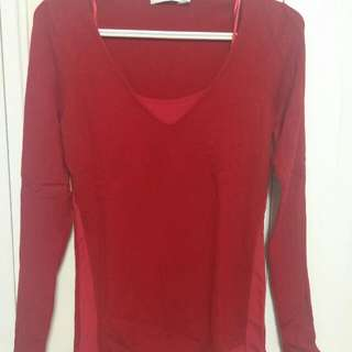 Rickis Red Sweater