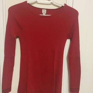 Tristan Red Sweater S