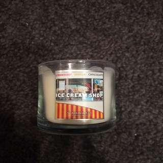 Bath'n Body Works Candle ICE CREAM SHOP