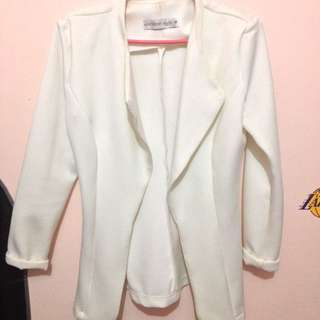 Apartment 8 White Corporate Blazer