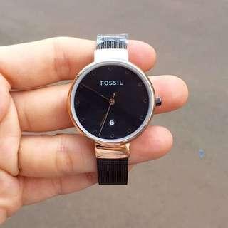 Fossil Aurora Steel Watch
