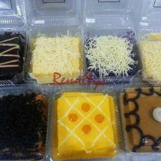 REMILLY's YEMA CAKE Available in YEMA CAKE PASTILLAS YEMA CAKE UBE MOCHA CHOCOLATE