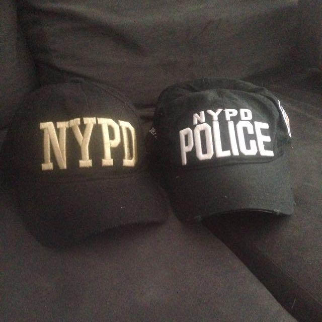 2x Nypd Caps