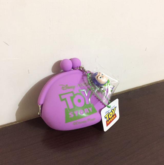 玩具總動員珠扣領錢包