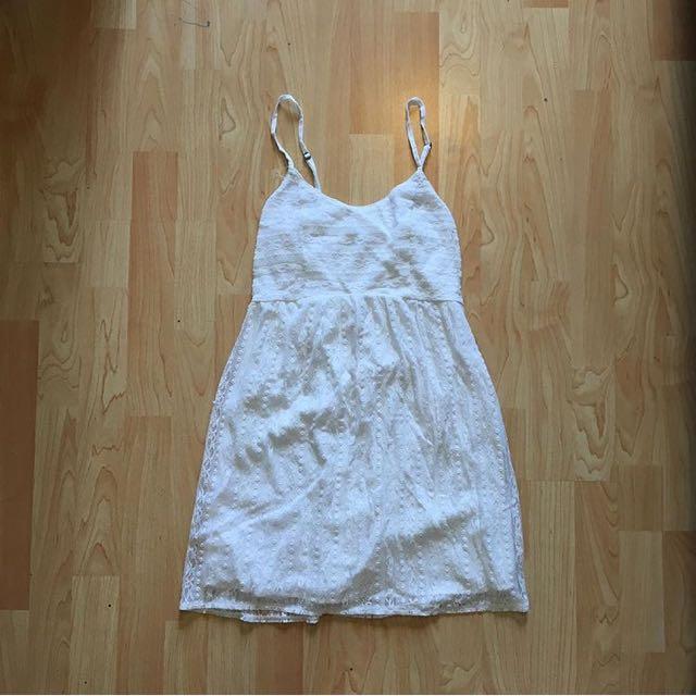 Abercrombie Babydoll Lace Dress