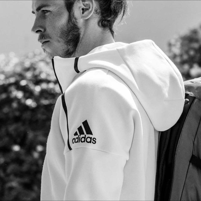Adidas z.n.e 外套 全白