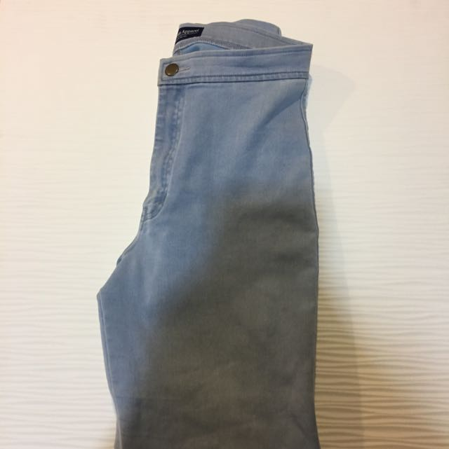 american apparel high waisted jeans/jeggings