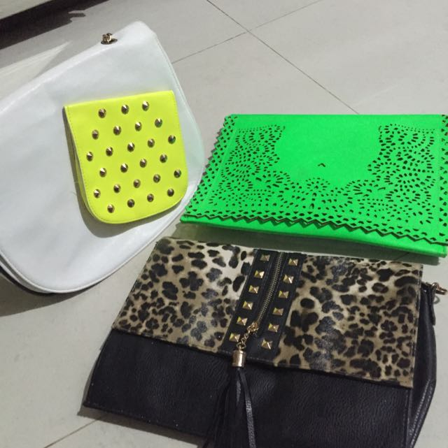 Assorted Sling Bags