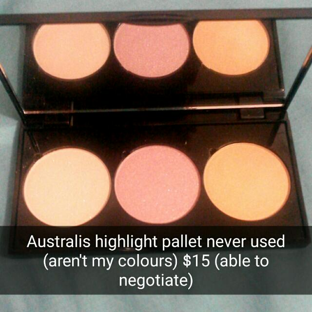 Australis Highlighter Pallet (Illuminating Powder)