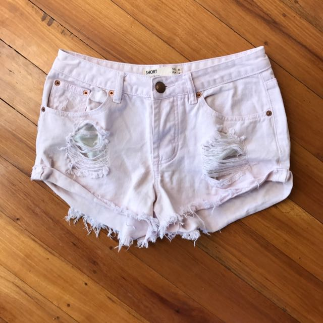 Baby Pink Cotton On Shorts 8