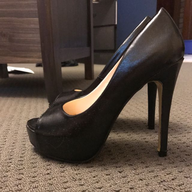 Betts For Her Black Heals Size 6