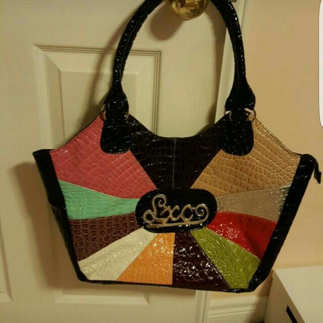 Black Bag With Strap