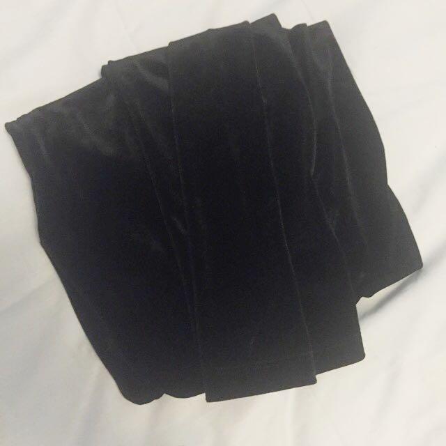 Black Velvet / Velour Lesggjbs